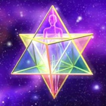 Archangel Metatron Double sided pyramid- your Merkabah