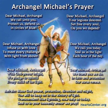Archangel Micheal Prayer