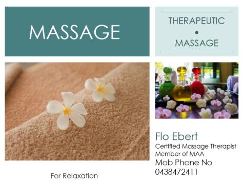 Massage Flyer