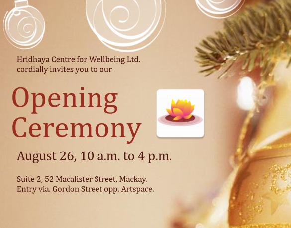 Opening Ceremony Invite