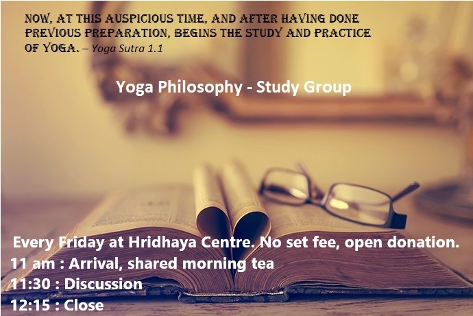 Yoga Philosophy Group FLYER